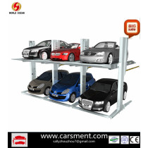 New product for 2013 Two post car parking lift 3.2T combined type parking system