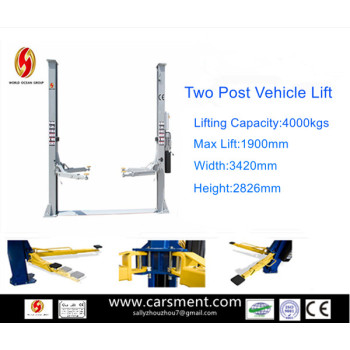 New products for 2013 Hydraulic 2 post car lifts with CE