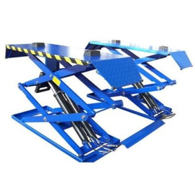 Hor Product for 2013 Utrathin  Scissor Car Lift  4 cylinders 3000kgs/1850