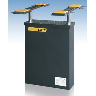 2 post in ground car lifts 3500kg capacity with CE DHCZ-Z3500A