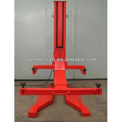 Settled single post hydraulic lift 2500kg capacity