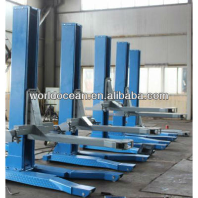 2.5ton/ single hydraulic car lift one post hydraulic hoist