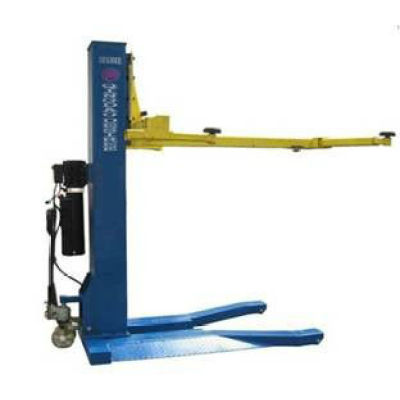 one post car lift for vehicle wash repair shop DHCZ-M2500