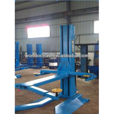 HOT!! Sell movable single post hydraulic lift car lift