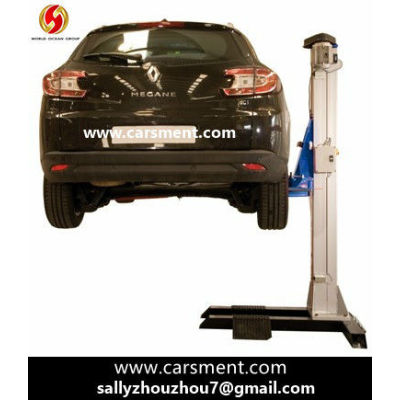 New Product for 2013 Single post Hydraulic Manual Vehicle lift