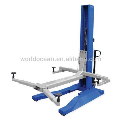 china made single post hydraulic lift