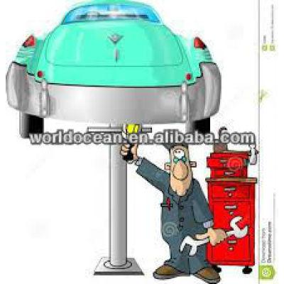 Hydraulic lift car lifter