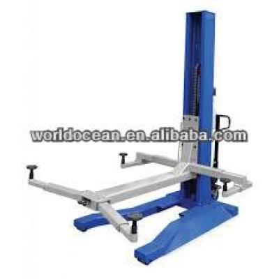 Single post car lift Hydraulic Manual Vehicle lift
