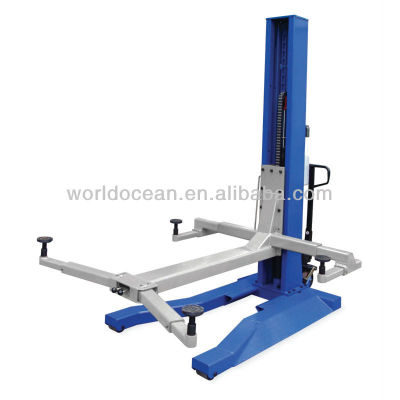 2.0 ton china made single post hydraulic lift