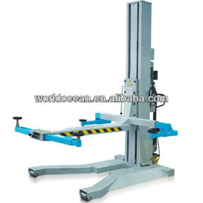 hydraulic single post mobile lifts capacity 5500lbs
