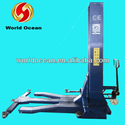 Single post car lift portbale hydraulic lift
