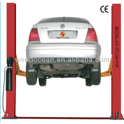High quality 2 post hydraulic car lift with CE certificate
