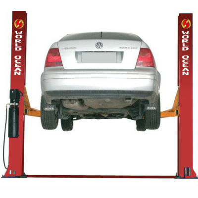low ceiling plate 2 post clear floor Car lifts WT3200-A