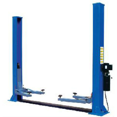 Hydraulic floor plate 2-post car lift