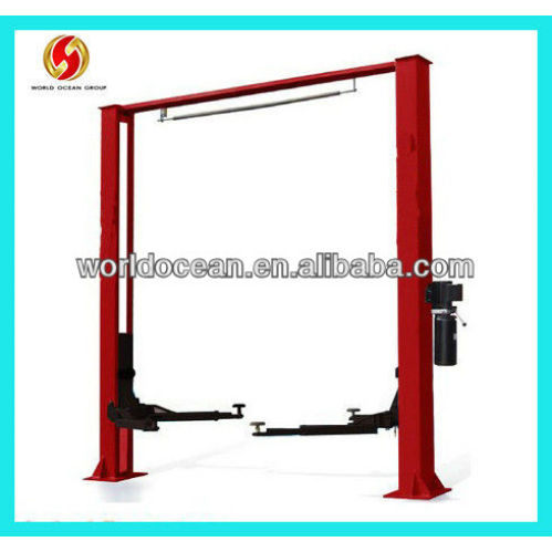 Two post car lift for sale used 10