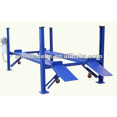 Easy four post car parking lift/ paking machine 5500kgs