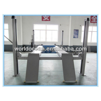 Four post car lifts hydraulic car lift for wheel alignment