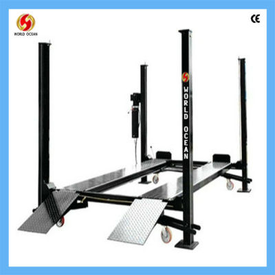 Auto repair shop used 4 post car lift for sale WF3700