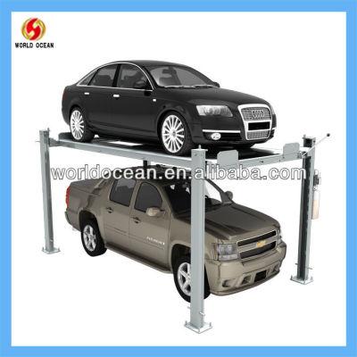 Mobile Post Auto parking system 4 post Parking lift