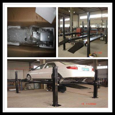 4 post independent car parking system