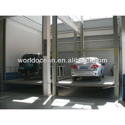 Vertical & Horizontal parking system car lifting platform