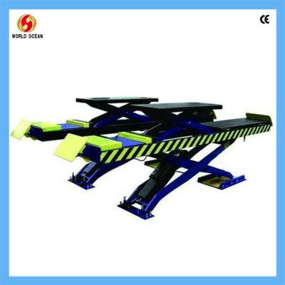 hydraulic wheel alignment scissor car lift with secondary lift WS3200