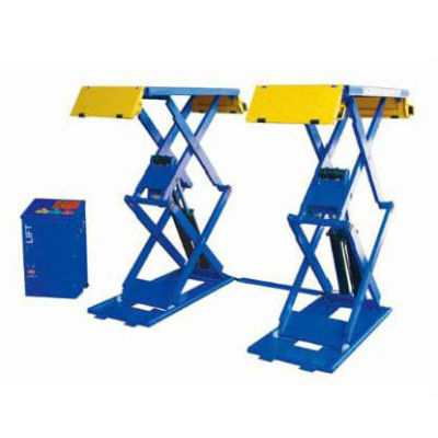 3 ton scissor hydraulic car lift DHCZ-S3000 with manual lock release