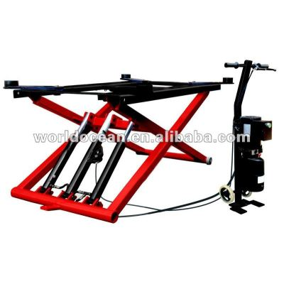 Vehicle lift Hydraulic Scissors Car Lift with CE car lifts