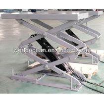 2013 New Product WSG3200 Scissor car lift in ground install car hoist