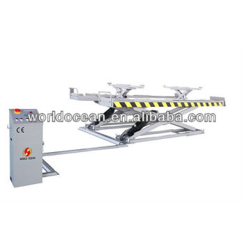 wheel alignment scissor lift capacity 4000kgs with CE