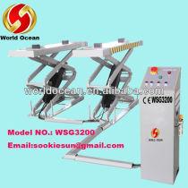 Hydraulic scissor car lift