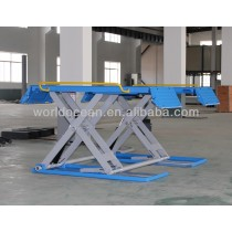 3t hydraulic scissor residential car lift WSR3000
