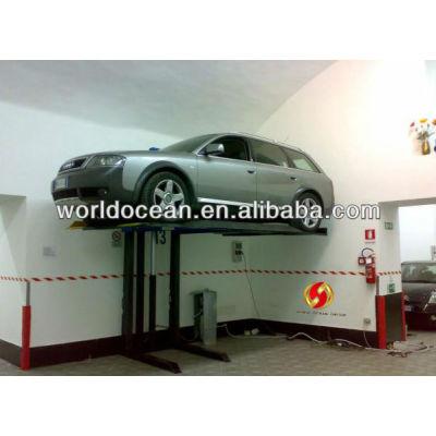 Single hydraulic cylinder car lift WS3200/7000LBS