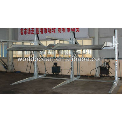 Double post parking lift WP2700-C with CE certificate