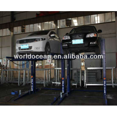 Two post parking lift WP2700-B with CE certificate