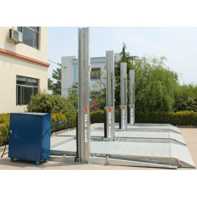 two post parking lift for office parking lot WP2700-H