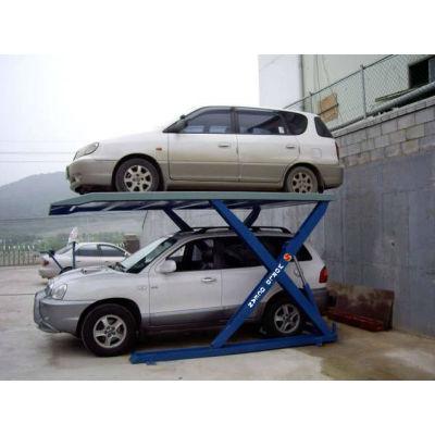 automatic double levels scissor parking lift equipment WP2700-S