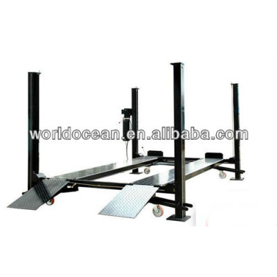 four post Hydraulic auto mobile lift 3600kg with Casters