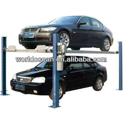 Car stacking WP2-5A Parking Lift In Pit For Two Cars