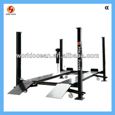 See larger image Four column lift, 4 post lift WF3700
