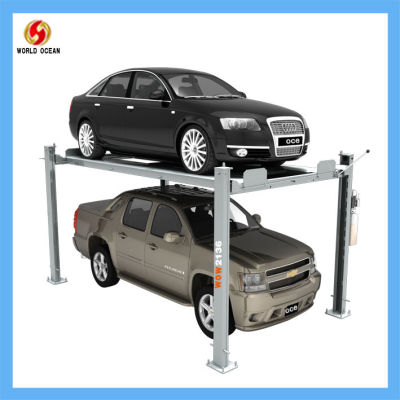 wow2136 auto parking lift for 4 cars Apply to community and small garage