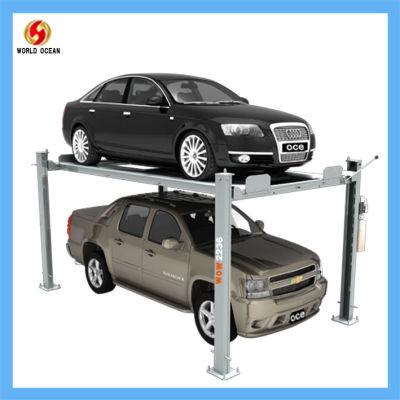 wow2236 double parking car lift vertical car lift