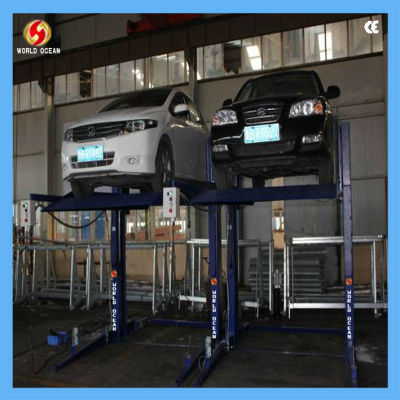 2 post parking lift capacity 2200kgs