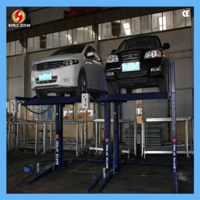 2.7 ton two post vehicle parking system
