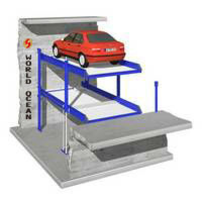 In Pit For Two Cars parking lift WP2-5A