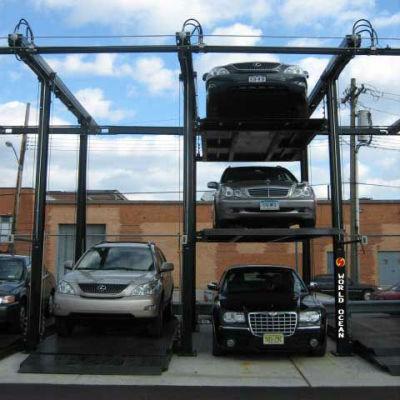 New Car Storage parking system ,Quad Vehicle Storage WP3-2P