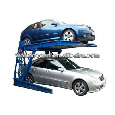 hydraulic home use two post tilting parking lift