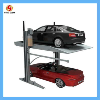 Tilting Car Parking Lifts for low ceiling parking system WOW8018