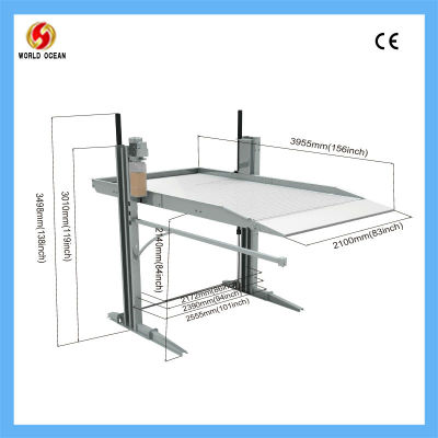 Two Post Car parking system WOW8020