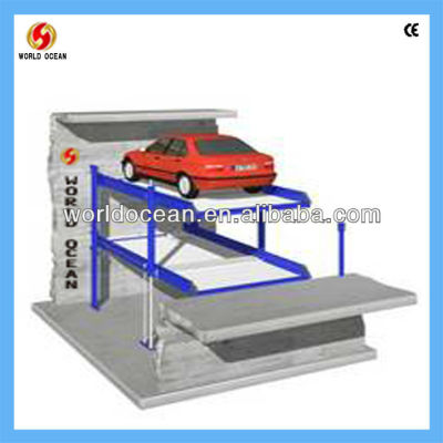 Parking Lift In Pit For Two Cars WP2-5B